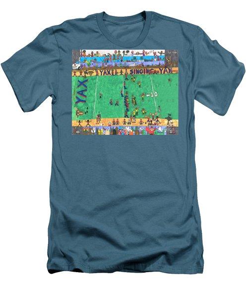 Football Men's T-Shirt (Athletic Fit)