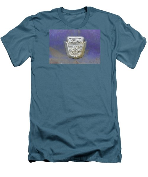 Ford Emblem Men's T-Shirt (Slim Fit) by Laurie Perry