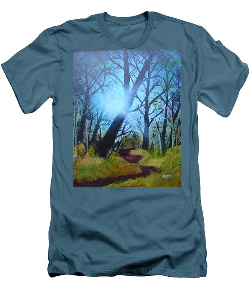 Forest Sunlight Men's T-Shirt (Athletic Fit)