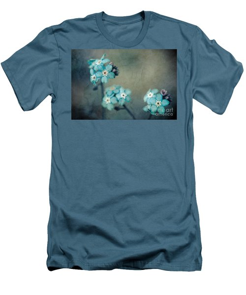 Forget Me Not 01 - S22dt06 Men's T-Shirt (Slim Fit) by Variance Collections