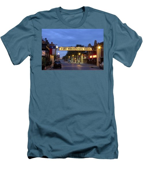 Fort Worth Stockyards Men's T-Shirt (Athletic Fit)