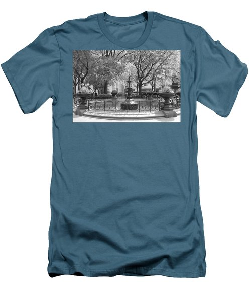 Fountain Time Men's T-Shirt (Athletic Fit)