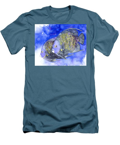 French Angelfish Men's T-Shirt (Athletic Fit)