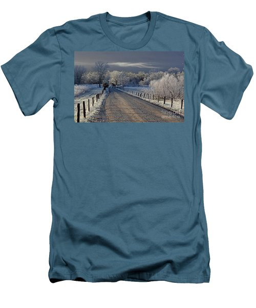 Frosty Sparks Lane Men's T-Shirt (Athletic Fit)