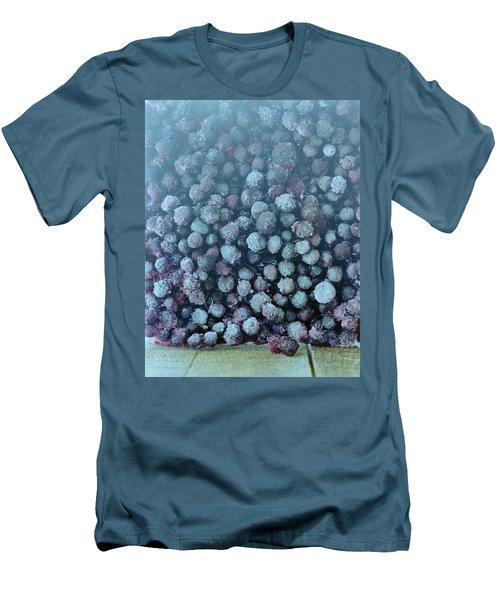 Frozen Blueberries Men's T-Shirt (Athletic Fit)