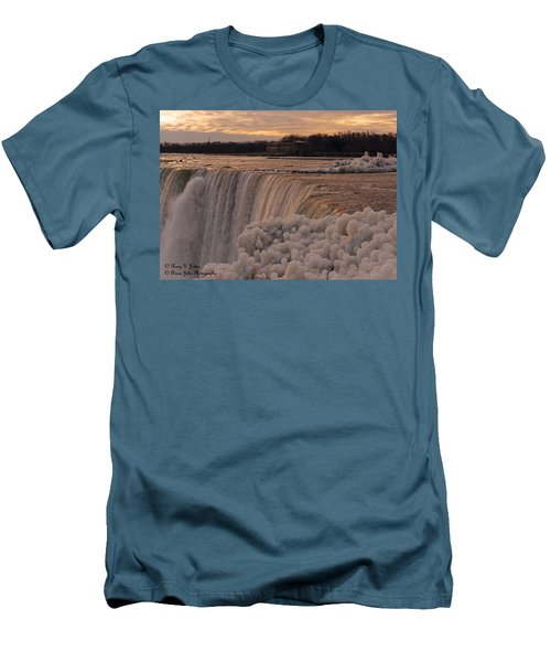 Frozen Falls Men's T-Shirt (Athletic Fit)