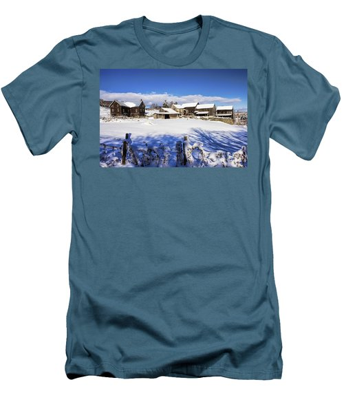 Frozen In Time One  Men's T-Shirt (Athletic Fit)