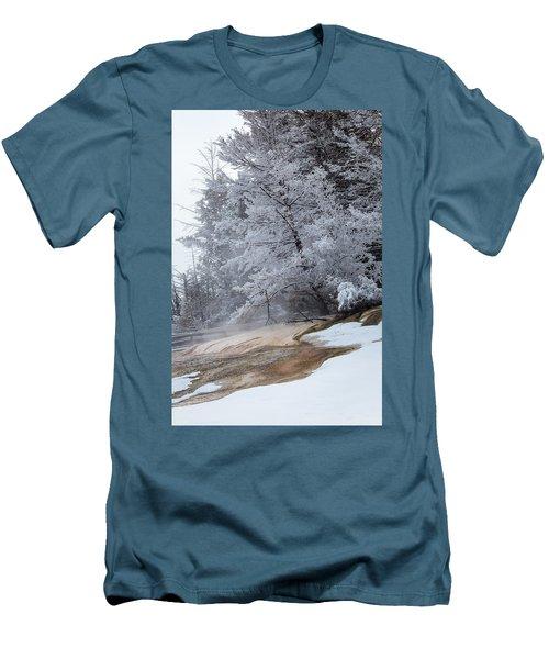 Frozen Tree Men's T-Shirt (Slim Fit)