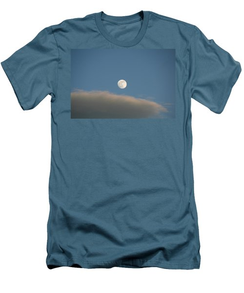 Men's T-Shirt (Slim Fit) featuring the photograph Full Moon by David S Reynolds