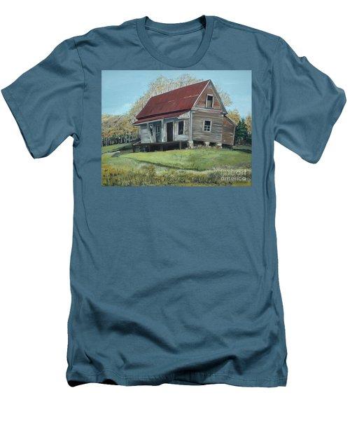 Gates Chapel - Ellijay Ga - Old Homestead Men's T-Shirt (Athletic Fit)