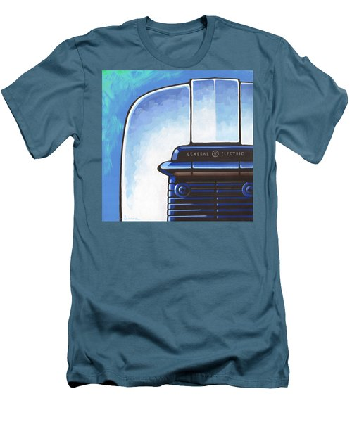 General Electric Toaster - Blue Men's T-Shirt (Athletic Fit)