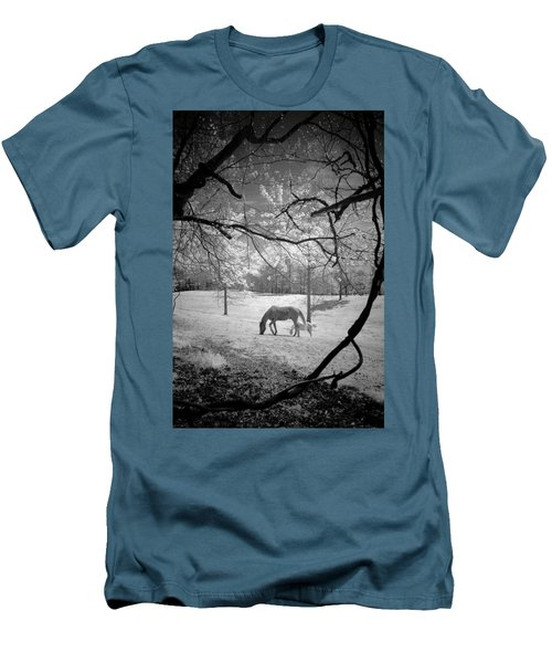 Georgia Horses Men's T-Shirt (Athletic Fit)