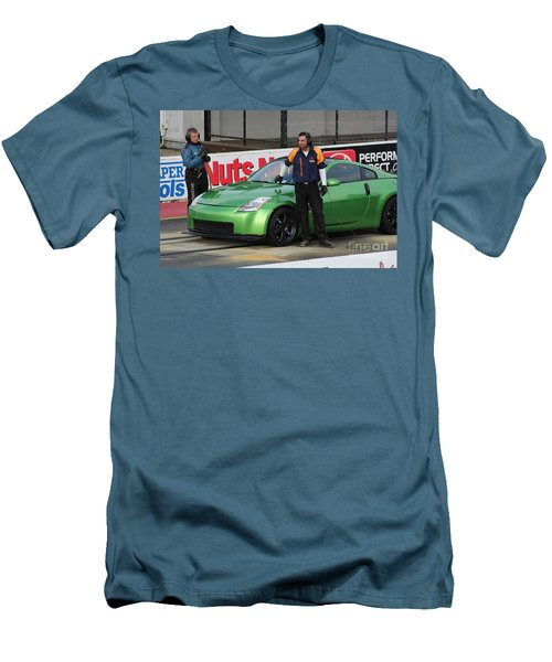 Getting Ready To Race Men's T-Shirt (Athletic Fit)