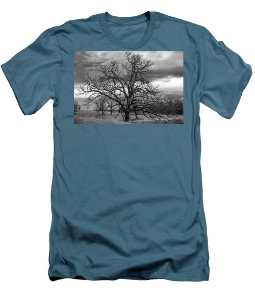 Men's T-Shirt (Slim Fit) featuring the photograph Gnarly Tree by Sennie Pierson
