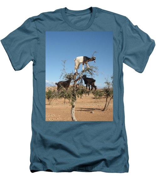 Goats In A Tree Men's T-Shirt (Athletic Fit)