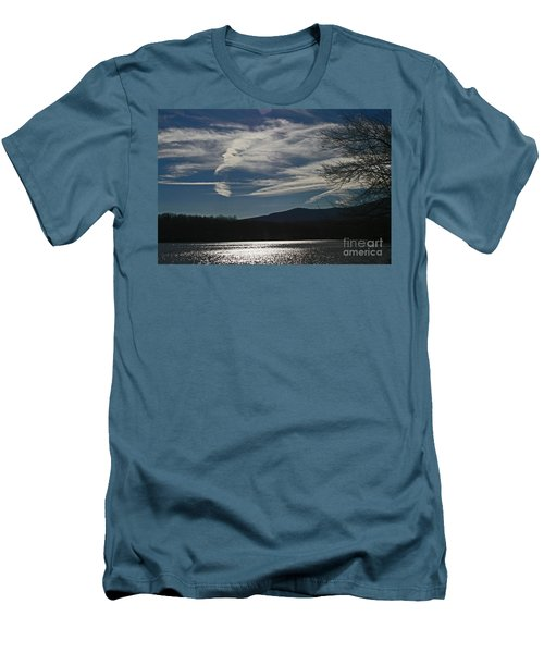 God Paints The Sky Men's T-Shirt (Athletic Fit)