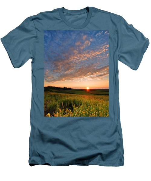 Golden Fields Men's T-Shirt (Slim Fit) by Davorin Mance