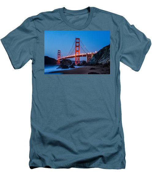 Golden Gate At Twilight Men's T-Shirt (Athletic Fit)