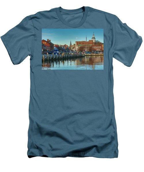 Good Morning Downtown Men's T-Shirt (Athletic Fit)