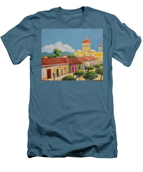 Granada Cathedral Men's T-Shirt (Athletic Fit)
