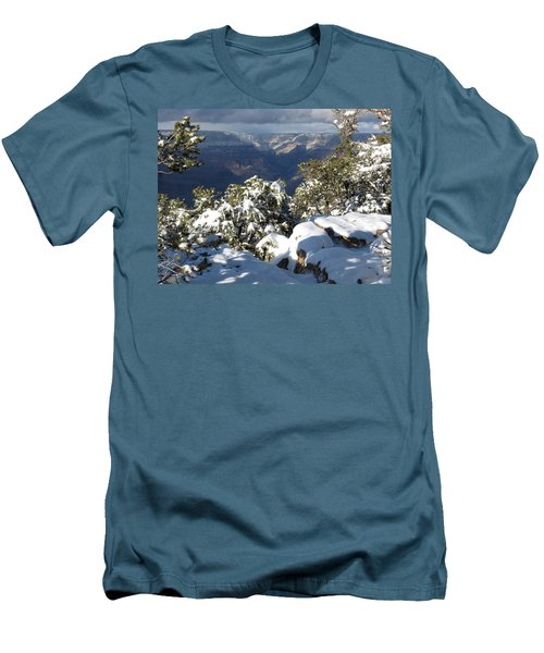 Grand Men's T-Shirt (Slim Fit) by Laurel Powell