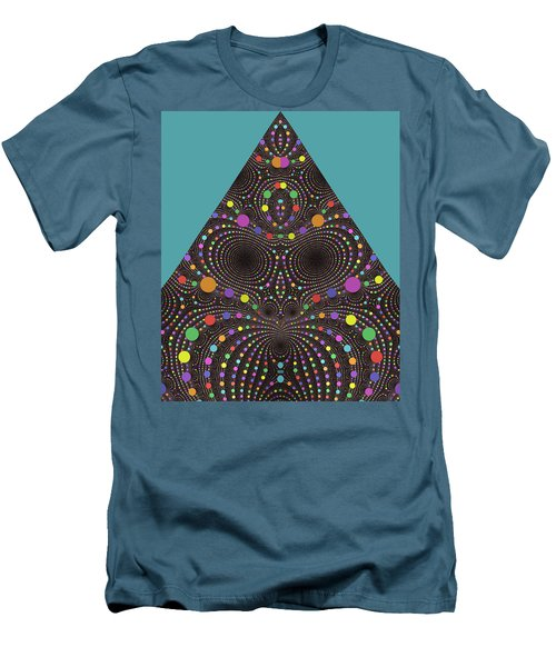 Men's T-Shirt (Slim Fit) featuring the digital art Gravity And Magnetism by Mark Greenberg