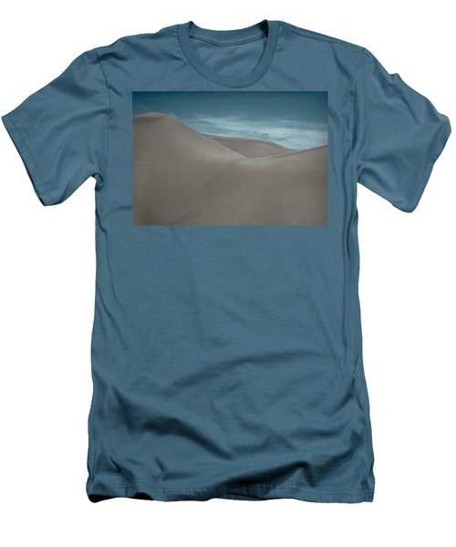 Men's T-Shirt (Slim Fit) featuring the photograph Great Sand Dunes by Don Schwartz
