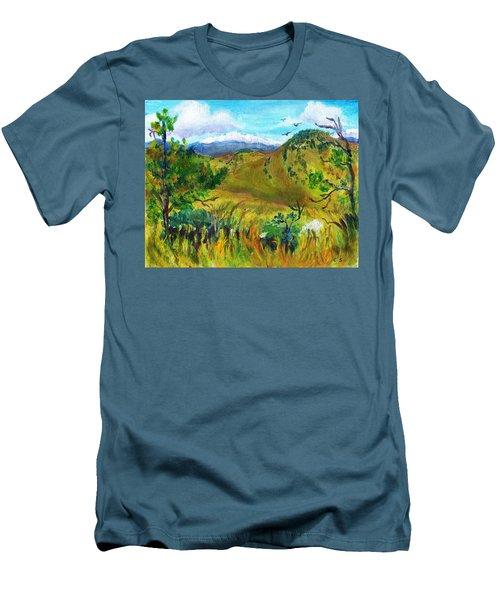 Guilty Pleasures Men's T-Shirt (Slim Fit) by C Sitton
