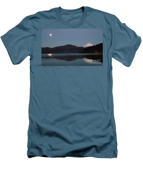 Hakone Lake Men's T-Shirt (Athletic Fit)