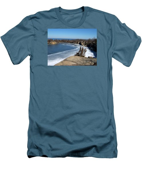 Icy Quarry Men's T-Shirt (Slim Fit) by Catherine Gagne