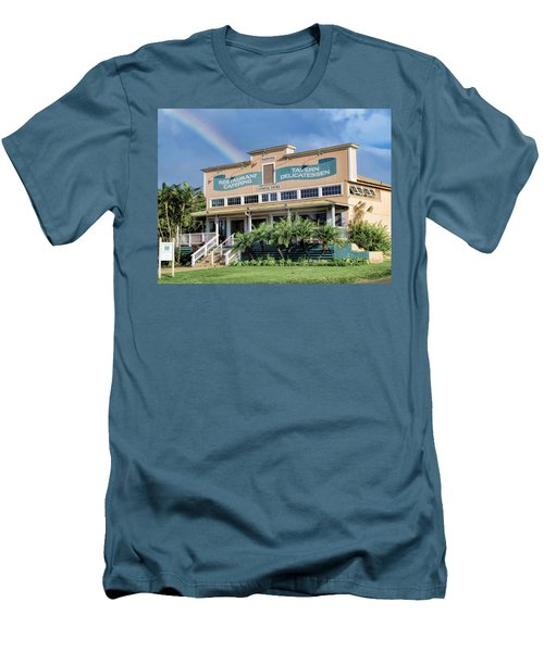 Men's T-Shirt (Slim Fit) featuring the photograph Haliimaile General Store 1 by Dawn Eshelman