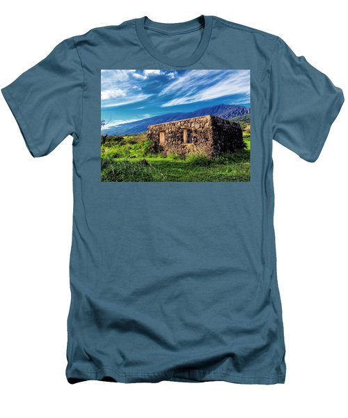 Men's T-Shirt (Slim Fit) featuring the photograph Hana Church 6 by Dawn Eshelman
