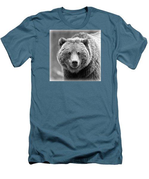 Happy Bear Men's T-Shirt (Athletic Fit)