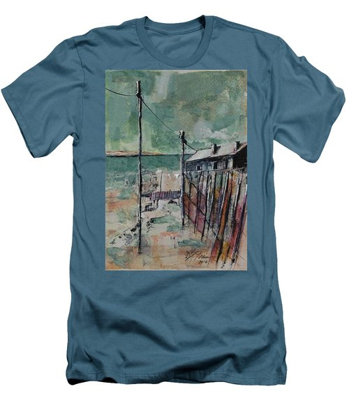 Harbormaster's Home Away From Home Men's T-Shirt (Athletic Fit)