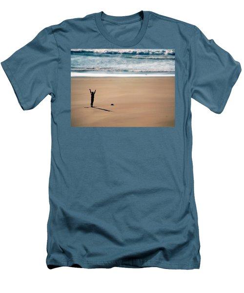 Harmony  Men's T-Shirt (Slim Fit) by Micki Findlay