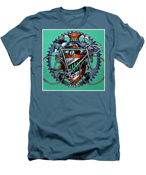 Harry Quinn Men's T-Shirt (Slim Fit) by Mark Jones