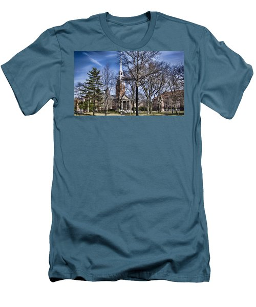 Harvard University Old Yard Church Men's T-Shirt (Athletic Fit)