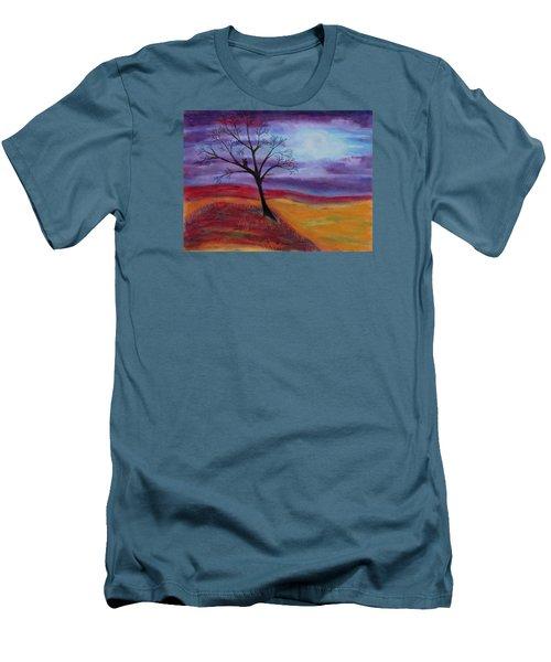 Harvest Moon 2 Men's T-Shirt (Slim Fit) by Jeanne Fischer