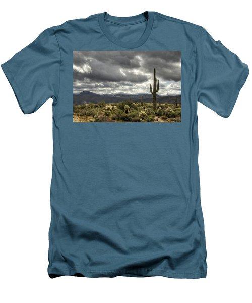 Heavenly Desert Skies  Men's T-Shirt (Slim Fit) by Saija  Lehtonen