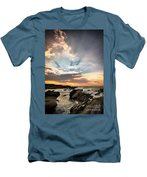 Heavenly Skies Men's T-Shirt (Athletic Fit)