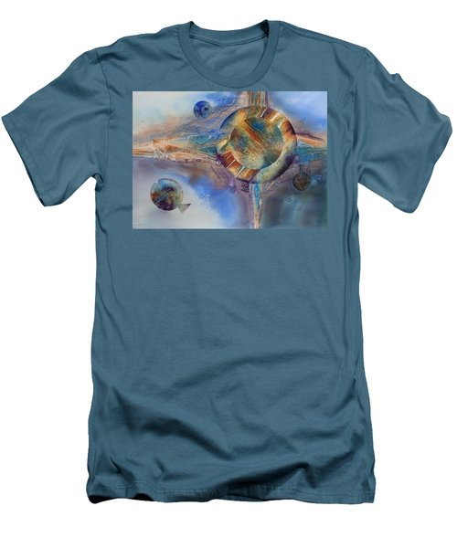 Heavens Gate Men's T-Shirt (Slim Fit) by Tara Moorman
