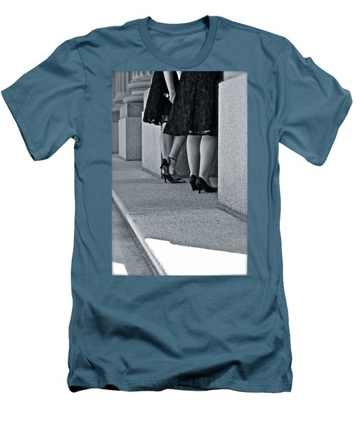 Heels And Lace Men's T-Shirt (Athletic Fit)