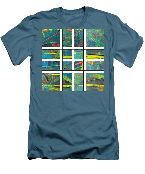 Men's T-Shirt (Slim Fit) featuring the photograph Herbal Thoughts Part One by Sir Josef - Social Critic - ART