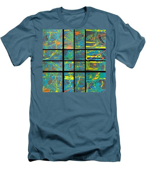 Men's T-Shirt (Slim Fit) featuring the photograph Herbal Thoughts Part Two by Sir Josef - Social Critic - ART