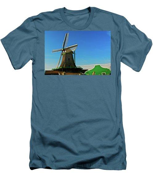 Men's T-Shirt (Slim Fit) featuring the photograph Het Jonge Schaap by Jonah  Anderson