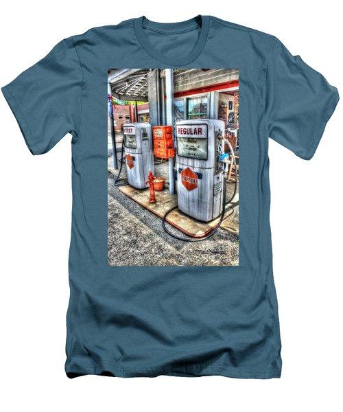 Hi Test And Regular Men's T-Shirt (Slim Fit) by Dan Stone