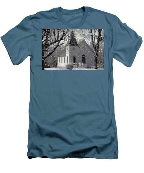 Higgensville Church Men's T-Shirt (Athletic Fit)