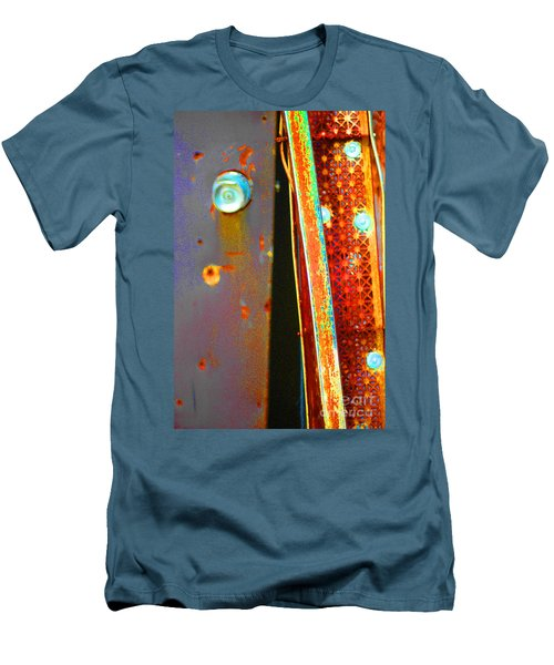 Men's T-Shirt (Slim Fit) featuring the photograph Homeless by Christiane Hellner-OBrien