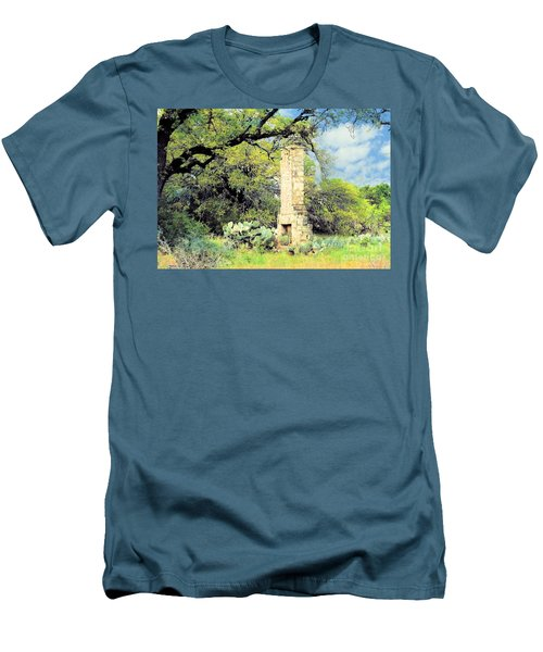 Forgotten Homestead  Men's T-Shirt (Athletic Fit)