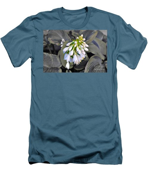 Hosta Ready To Bloom Men's T-Shirt (Athletic Fit)